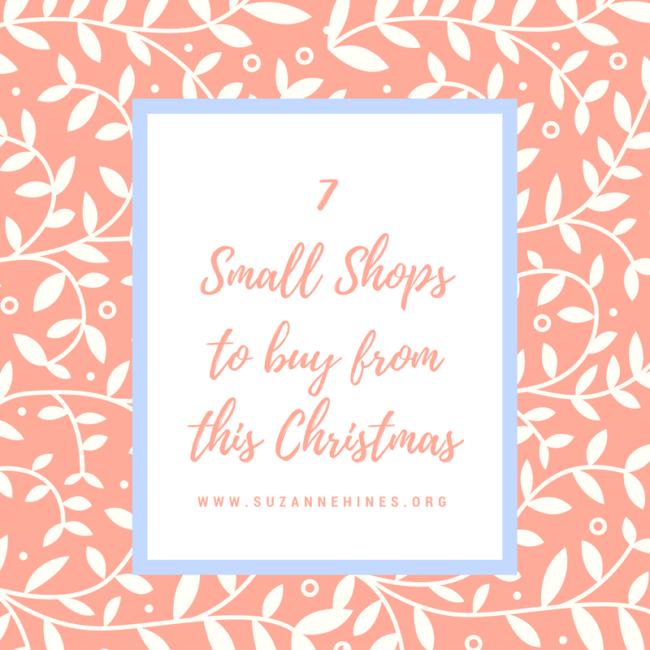 7 Small Shops to Buy From This Christmas