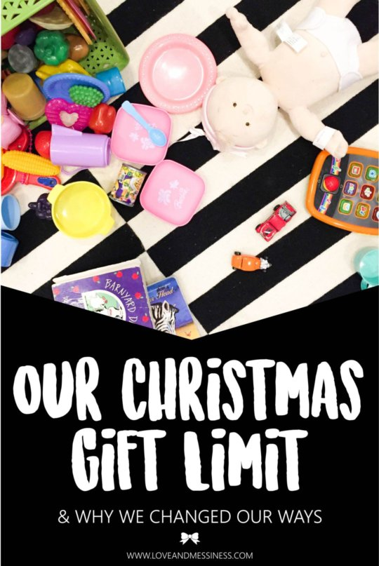 Our Christmas Gift Limit