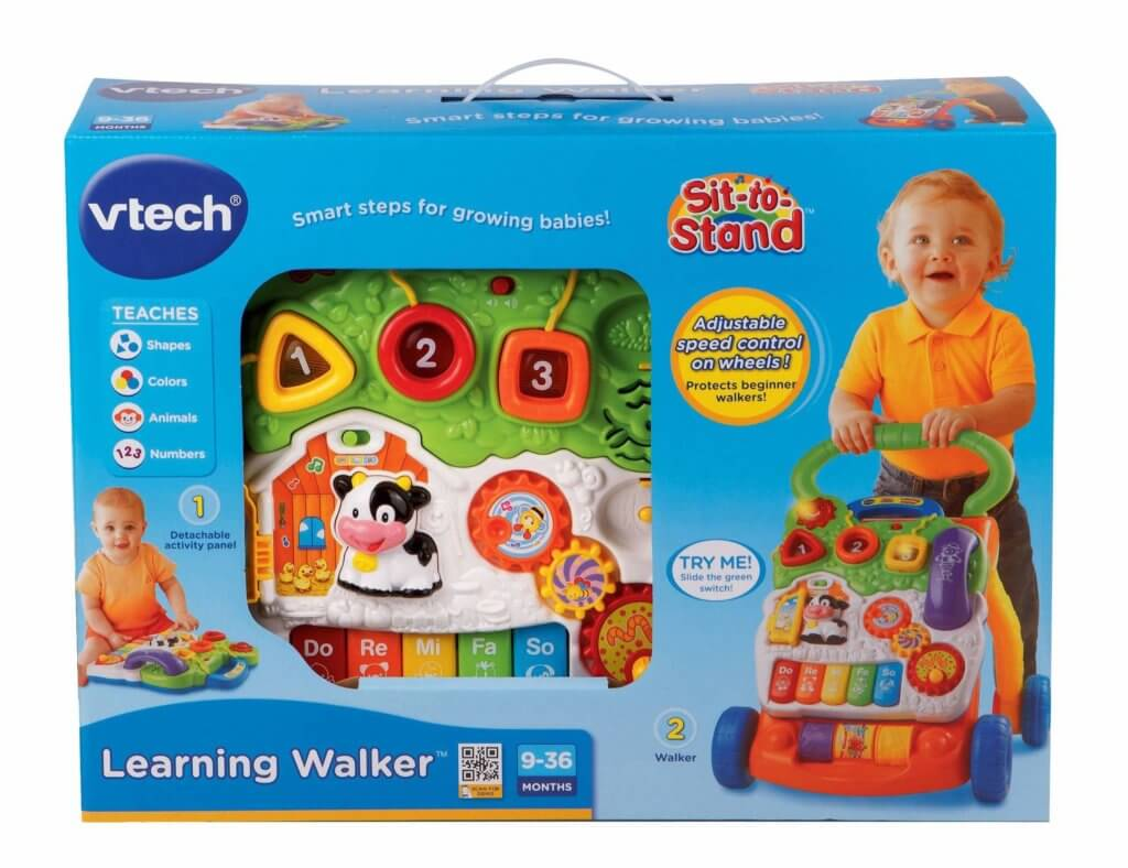VTech's Sit-to-Stand Learning Walker Review