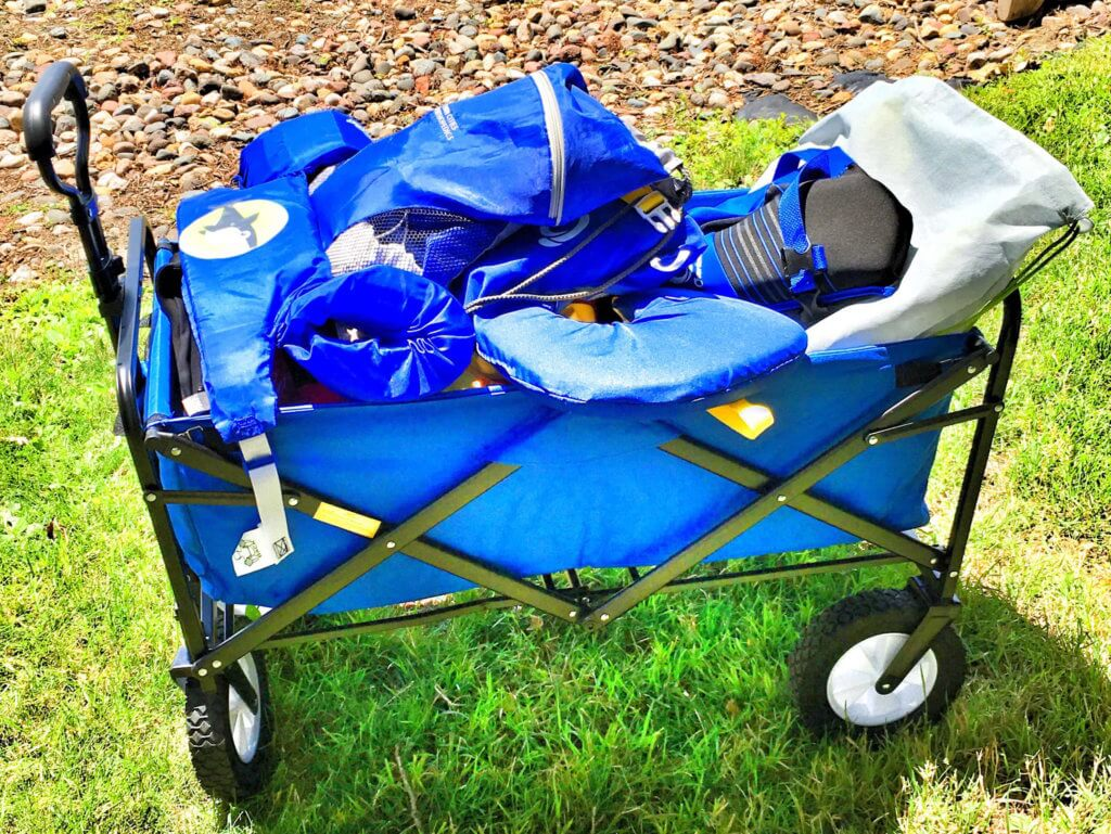 Mac Sports Collapsible Folding Outdoor Utility Wagon ...